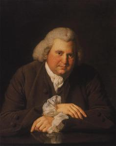 Erasmus Darwin portrait